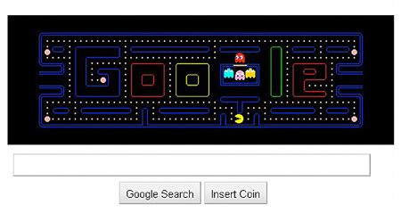 doodle 4 pacman pacman doodle gobbles up 5 million hours of work time