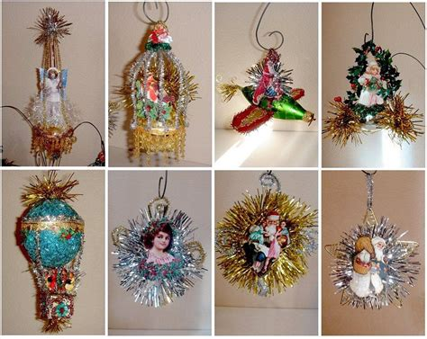 vintage christmas ornaments   ill