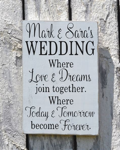 Wedding Quotes And Sayings by Rustic Wedding Sign Welcome Personalized Signs For