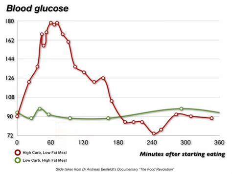 normal blood glucose  eating