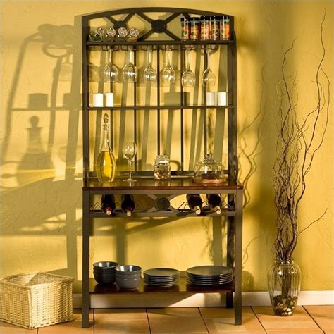 Decorative Wine Racks For Home by Southern Enterprises Decorative Bakers Rack With Wine