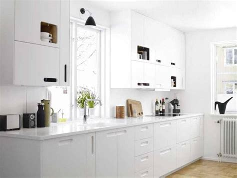 all white kitchen 20 sleek and serene all white kitchen design ideas to