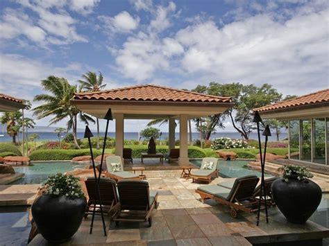 house in hawaiian magnificent beachfront home in kaanapali hawaii
