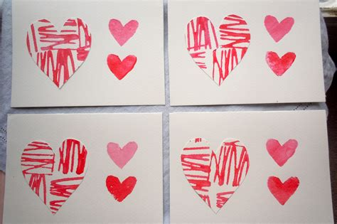 Handmade Valentines - diy valentine s day cards s a craft project