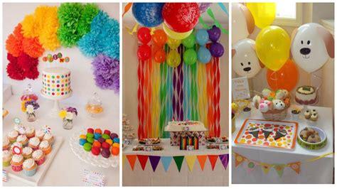 como hacer decoraciones con papel c 243 mo decorar cumplea 241 os infantiles con papel crepe y