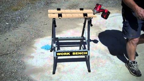bench vice harbor freight harbor freight foldable workbench vise item 47844