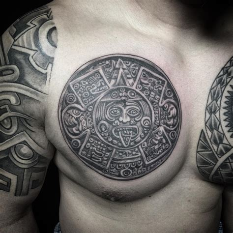 28 ornamental aztec tattoo designs ideas design trends