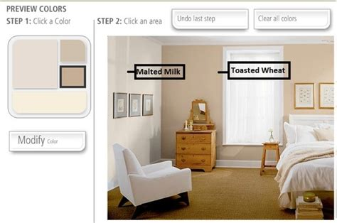 behr toasted wheat accent wall with malted milk color for remaining 3 walls will add large