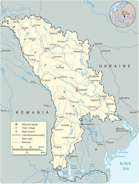moldova map map moldova travel europe