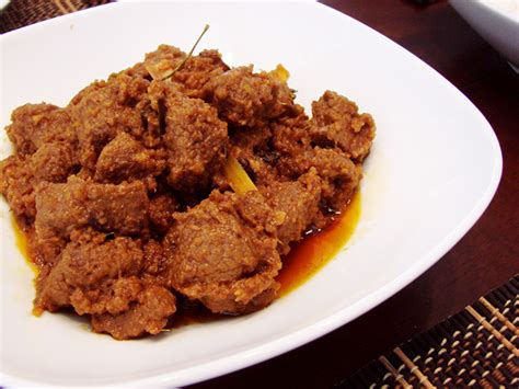 rendang daging   microwaves