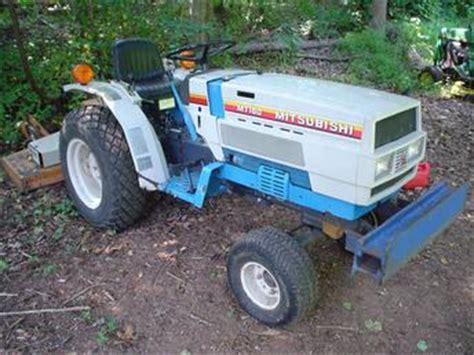 mitsubishi mt160 1986 tractorshed