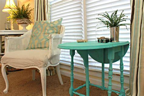 side table paint ideas decorating ideas aqua 4