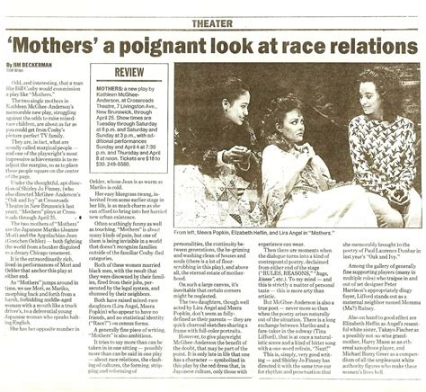 home news tribune mothers a poignant look at race