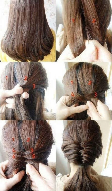 hairstyles simple images different simple hairstyles