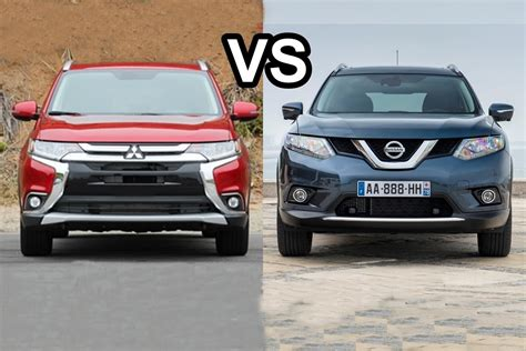 nissan outlander interior 2016 nissan x trail vs 2016 mitsubishi outlander design