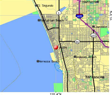 california map hermosa 90254 zip code hermosa california profile homes