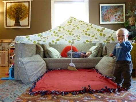How To Make A Den In Your Living Room by 14 Diy Forts And Play Houses S Home