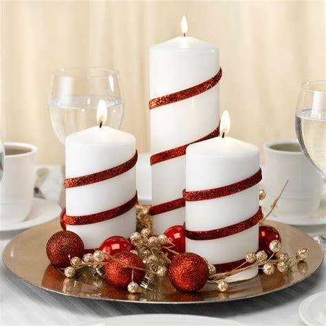 kerzen dekoration tischdeko zu weihnachten 100 fantastische ideen
