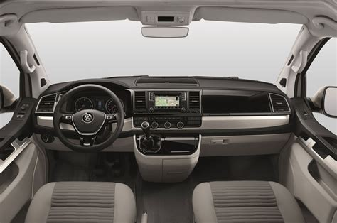 volkswagen california interior 2016 volkswagen transporter gets the california treatment