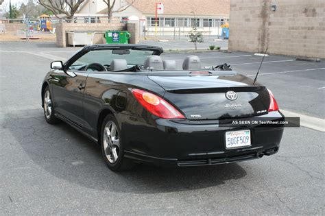 convertible toyota toyota solara pictures posters news and videos on your