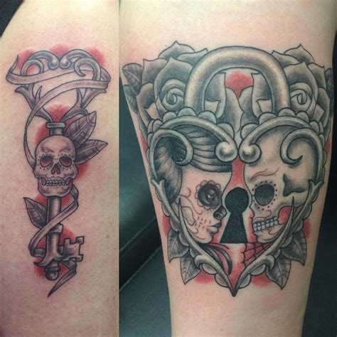 skeleton key tattoo 30 key designs ideas design trends premium