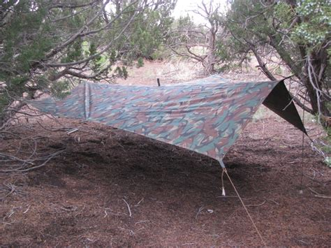 How To Build A Tarp Shed by Common Survival Uses For Tarps And Ponchos