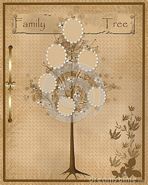 Family Tree Design For Your Photos Into Frames Royalty Free Stock Photos Image 36336428 Vintage Family Frames Tree Stock Image Image 32018791