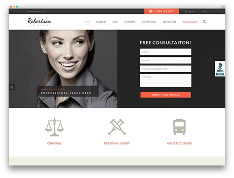 top design blogs 20 best lawyer wordpress themes for law firms and