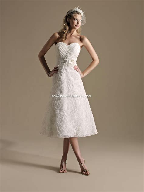 Top Ten Wedding Dress Style in 2013 ? Tea Length   Wedding