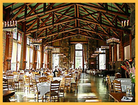 ahwahnee hotel dining room of yosemite