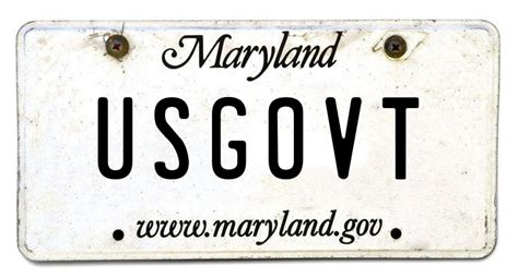 Vanity Plates Maryland by Daaamn Usgovt Among Rejected Maryland Vanity Plates