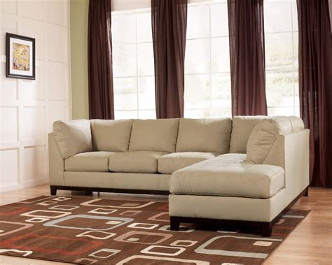 khaki sectional sofa ashley fusion khaki raf sofa sectional 8670266 living