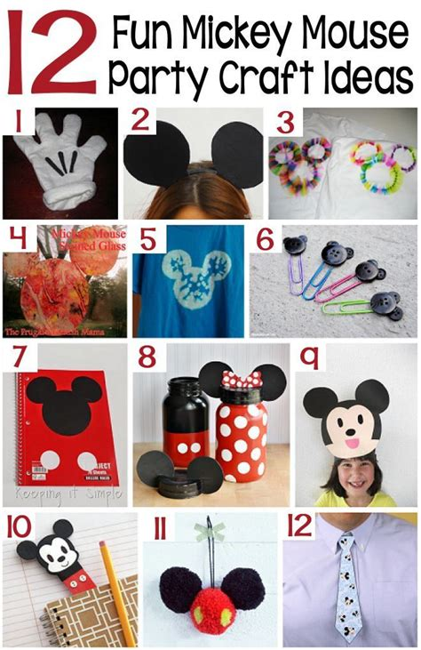 mickey mouse craft projects 508 best images about braylen s mickey mouse bday on