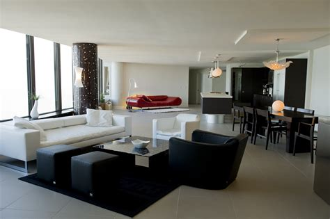 2 merged condos and contemporary furniture veselionline