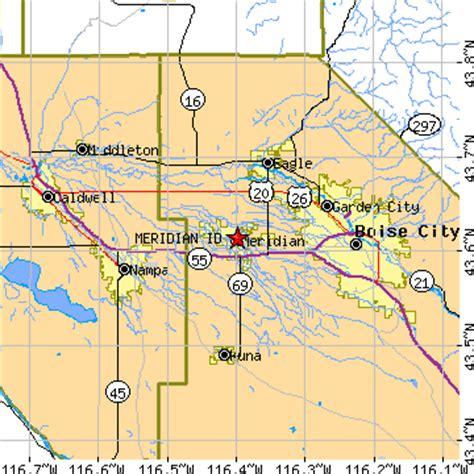Garden City Idaho Zip Code Meridian Idaho Id Population Data Races Housing