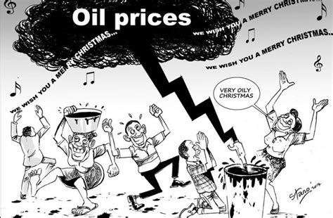 oil prices new low editorial cartoon the new times rwanda