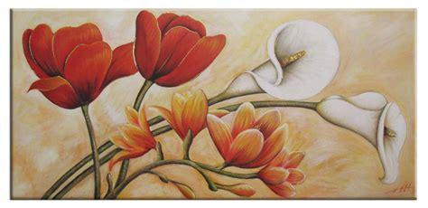 dipinti di fiori moderni quadro fiori moderno dipinto a mano olio su tela