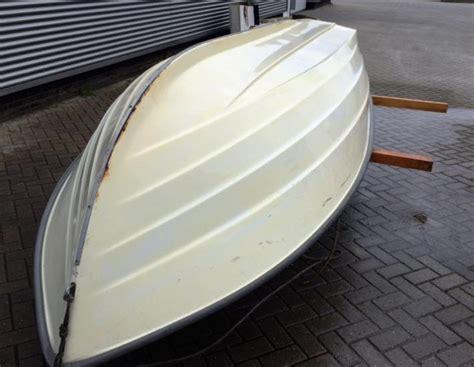 polijsten polyester boot vuil aanslag verwijderen