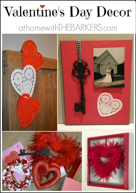 valentines day home decorations valentine s day decor at home with the barkers