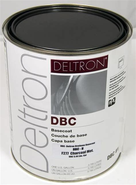 sell ppg dbc deltron basecoat charcoal metallic auto paint gallon motorcycle in san diego