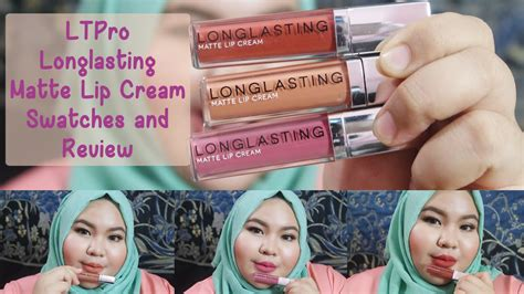 Harga Lt Pro Matte lipstick review lt pro longlasting matte lip