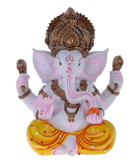 showpiece for home decoration gifts n greetings home decor sitting ganesh medium