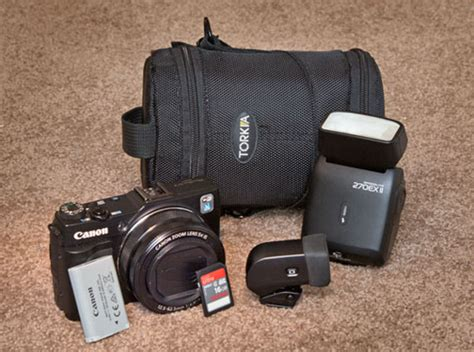 Aksesories Canon canon g1x ii accessories