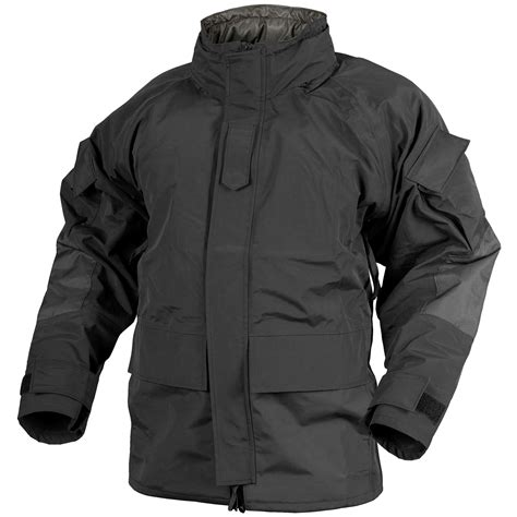 Jaket Outware Navy Original helikon ecwcs parka tactical mens hooded jacket waterproof coat black ebay