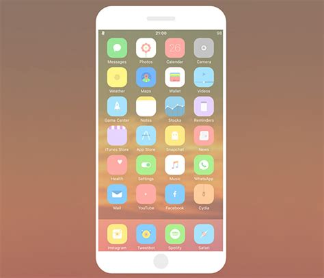 theme app for iphone 6 plus best winterboard themes for ios 9 iphone 6s iphone 6s plus