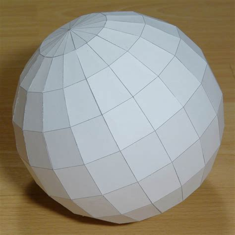 How To Make Sphere From Paper - paper hectohexecontadihedron