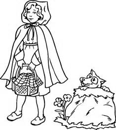red riding hood coloring pages coloringpagesabc