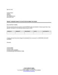 Account On Stop Letter Template by All Resumes 187 Format Letter To Bank Free Resume Cover