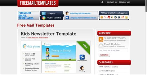 free mail templates 600 free email templates to simplify and prettify your