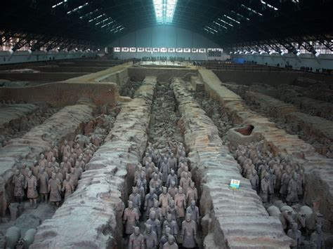 Terra Cotta pit 1 terra cotta warriors around the world and back